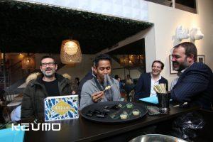 inauguraciones restaurantes eventos keumo snacks criogenizados