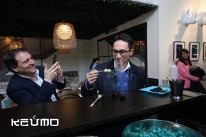 aperitivos frios para restaurantes fiestas catering Keumo