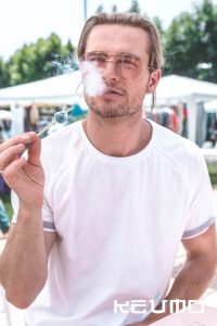 snack criogenizados keumo con humo para eventos